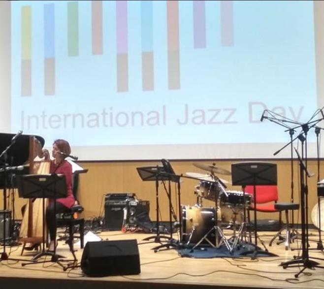 Vanessa D'Aversa International Jazz Day 2018 JazzHarpitude